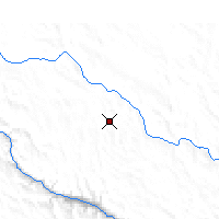 Nearby Forecast Locations - Sêrxü - Map