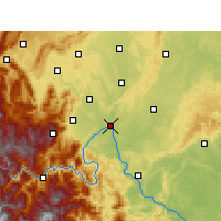 Nearby Forecast Locations - Leshan - Map