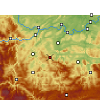 Nearby Forecast Locations - Gong Xian/SCH - Map