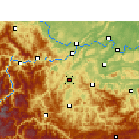 Nearby Forecast Locations - Gao Xian - Map