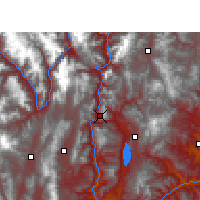 Nearby Forecast Locations - Lijiang - Map