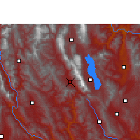 Nearby Forecast Locations - Yangbi - Map