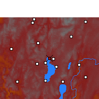Nearby Forecast Locations - Kunming - Map