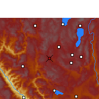 Nearby Forecast Locations - Eshan - Map