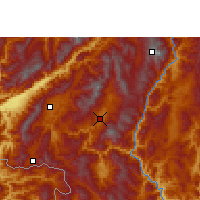 Nearby Forecast Locations - Shuangjiang - Map