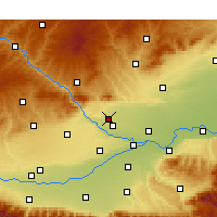 Nearby Forecast Locations - Sanyuan - Map
