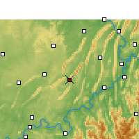 Nearby Forecast Locations - Yongchuan - Map