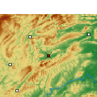 Nearby Forecast Locations - Zhangjiajie - Map