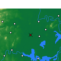 Nearby Forecast Locations - Anxiang - Map