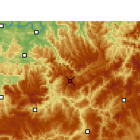 Nearby Forecast Locations - Xishui/GZH - Map