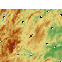 Nearby Forecast Locations - Songtao - Map
