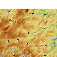 Nearby Forecast Locations - Cengong - Map