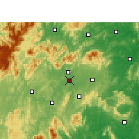 Nearby Forecast Locations - Shaoyang - Map