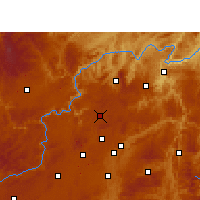 Nearby Forecast Locations - Xiuwen - Map