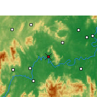 Nearby Forecast Locations - Qiyang - Map