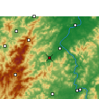 Nearby Forecast Locations - Suichuan - Map