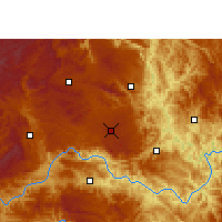 Nearby Forecast Locations - Anlong - Map