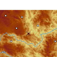 Nearby Forecast Locations - Ceheng - Map