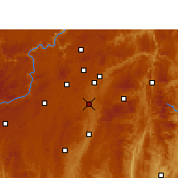 Nearby Forecast Locations - Huaxi - Map