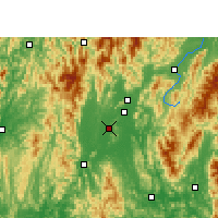 Nearby Forecast Locations - Lingui - Map