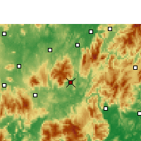 Nearby Forecast Locations - Yizhang - Map