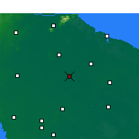 Nearby Forecast Locations - Guannan - Map
