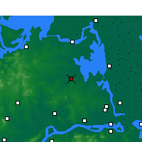 Nearby Forecast Locations - Tianchang - Map