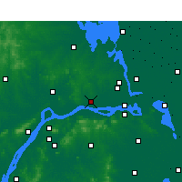 Nearby Forecast Locations - Yizheng - Map