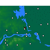 Nearby Forecast Locations - Yangzhou - Map