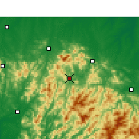 Nearby Forecast Locations - Nanxi - Map