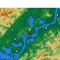Nearby Forecast Locations - Anqing - Map