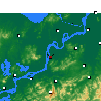 Nearby Forecast Locations - Tongling - Map