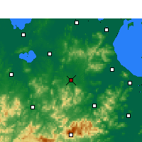 Nearby Forecast Locations - Guangde - Map