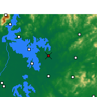 Nearby Forecast Locations - Boyang - Map