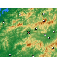 Nearby Forecast Locations - Qimen - Map