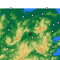 Nearby Forecast Locations - Shengzhou - Map