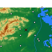 Nearby Forecast Locations - Anyi - Map