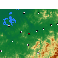 Nearby Forecast Locations - Yujiang - Map
