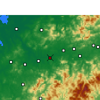 Nearby Forecast Locations - Guixi - Map