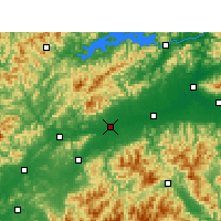 Nearby Forecast Locations - Quzhou - Map