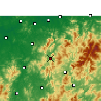 Nearby Forecast Locations - Zixi - Map