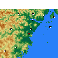 Nearby Forecast Locations - Pingyang - Map