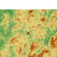 Nearby Forecast Locations - Qingliu - Map
