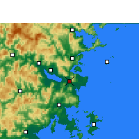 Nearby Forecast Locations - Changle - Map