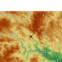 Nearby Forecast Locations - Tianlin - Map