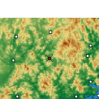 Nearby Forecast Locations - Dapu - Map