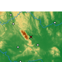 Nearby Forecast Locations - Shanglin - Map