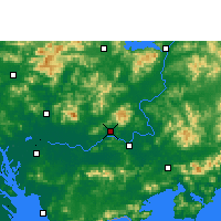 Nearby Forecast Locations - Boluo - Map