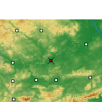 Nearby Forecast Locations - Chongzuo - Map