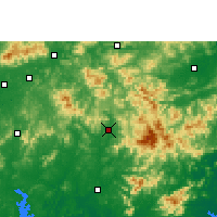 Nearby Forecast Locations - Xinyi - Map
